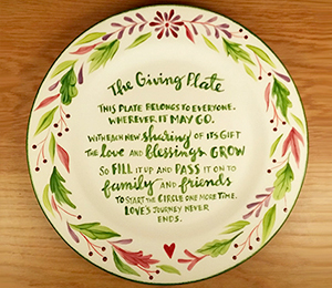 Glendale, CA The Giving Plate