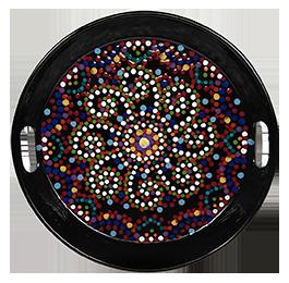Glendale, CA Mosaic Mandala Tray