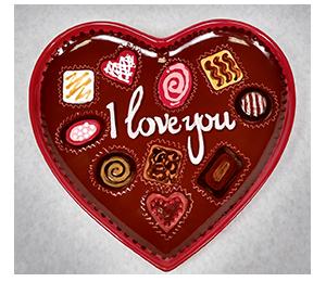 Glendale, CA Valentine's Chocolate