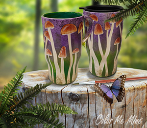 Glendale, CA Mushroom Mugs