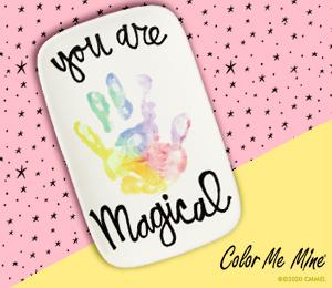 Glendale, CA Rainbow Hand-print